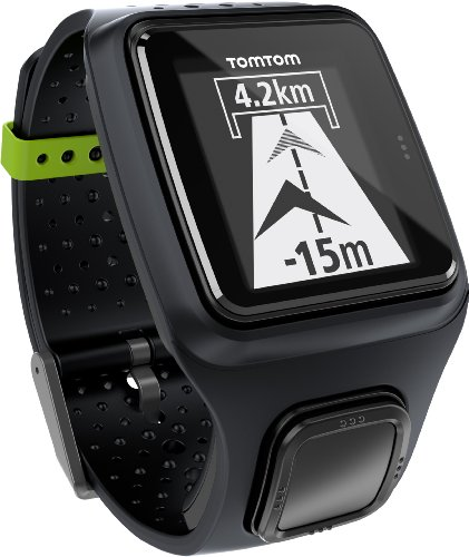 TomTom Runner - Reloj con GPS para correr, color Negro, Talla única