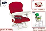 #8: CAM (Rosso) SMARTY Booster Seat S333-C26