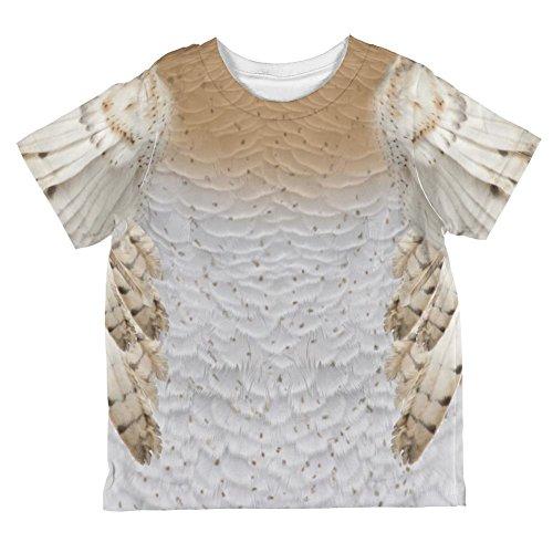 Schleiereule Halloween Kostüm ganzen Kleinkind T Shirt Multi 6 (Kostüme Kleinkind Owl)