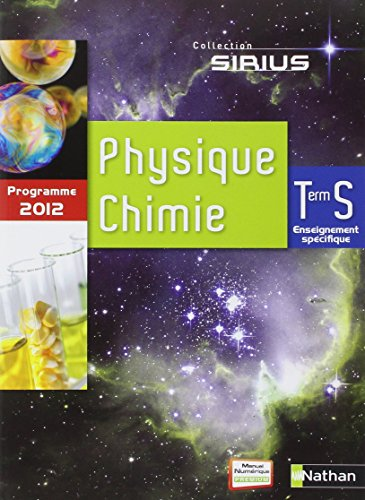 Physique-Chimie Term S spcifique