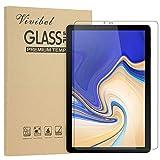 Vivibel Panzerglas Schutzfolie für Samsung Galaxy Tab S4 T830/T835, HD Ultra-klar Anti-Kratz Anti-Fingerabdruck 9H Härte Displayschutzfolie für Samsung Galaxy Tab S4 T830/T835 10.5 Zoll