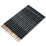Tiptiper 14Pcs Embout à crayons à base de crayon Stylo à papier Essentiels Sketching Ensemble de dessin au crayon Art Supply Tool