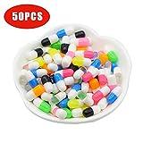 TianranRT Slim Granulat Pellets Slim 50PCS Bunt Styropor Pille Dekorativ Schleim DIY Handwerk für Crunchy Slime