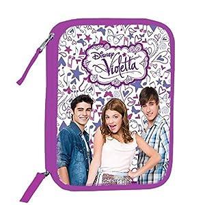 Plumier Violetta Disney Passport doble