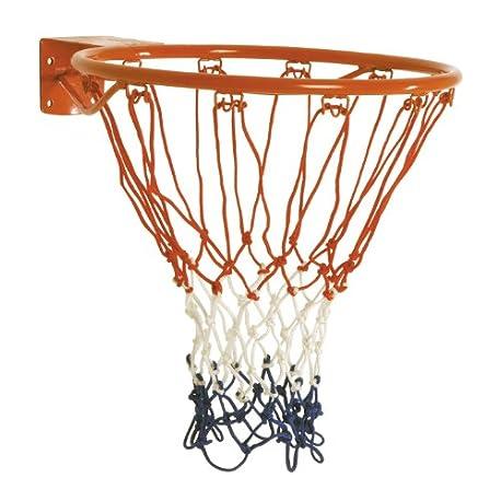 Sure Shot Aro de baloncesto con red color naranja y blanco
