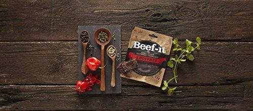 Beef-it - Fines Tranches De Bœuf Séché Gourmet 100% Made In France - Saveur 3 Poivres - 2 Sachets De 30 Gr - Sain Et Gourmand