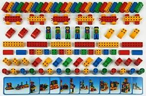 Theo Klein-658 Manetico set con 98 piezas, bloques de construcción magnéticos, edad 1+, juguete, Multicolor, Unidades (658)