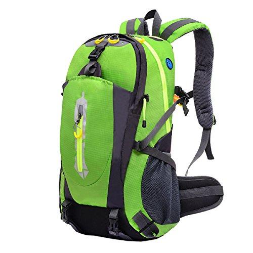 Yy.f40L Im Freien Bergsteigen Taschen Rucksäcke Wandern Camping Mehrzweck-Reisetasche. Größe: 33 * 17 * 46cm. Multicolor Orange