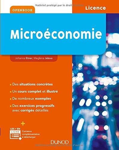 Microéconomie par Johanna Etner