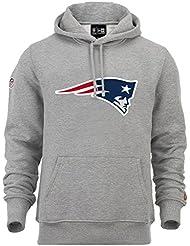 New Era - NFL New England Patriots Team Logo Hoodie - grey