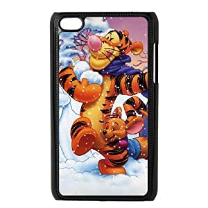 tigger iPod Touch 4 Case Black DIY Gift pxf005_0246201