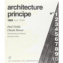 Architecture Principe: 1966 and 1996 (Tranches de Ville)