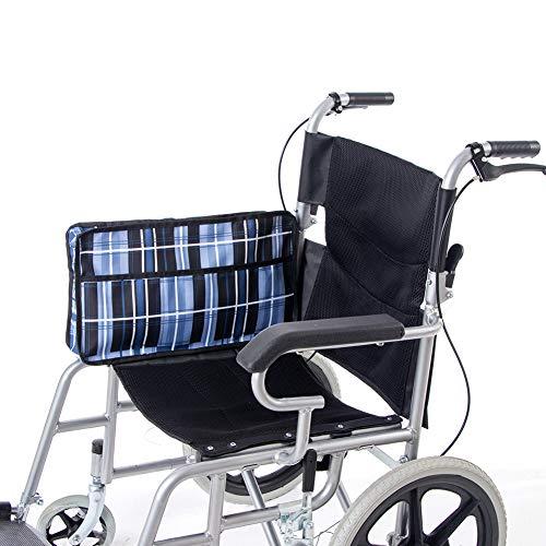Hanshi HGJ258 Rollstuhl-Seitentasche, Rucksackaufbewahrung und Armlehne, seitliche Organizer, mehrere Taschen, Gehhilfen-Beutel, für freie Hände