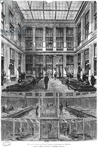 alu-dibond-bild-80-x-120-cm-interior-and-cross-section-of-the-new-credit-lyonnais-hotel-19-boulevard