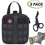BUSIO Trousse de Premier Secours Survie-IFAK Pouch Emergency First Aid Kit- Sac Molle...