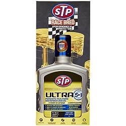 Stp, Trattamento Ultra 5 in 1 Diesel, Massimizza l'Efficienza e le Prestazioni del Motore, con Formula Antiusura, Aumenta il Numero di Cetano, 400 ml
