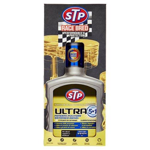 Stp, Trattamento Ultra 5 in 1 Diesel, Massimizza l'Efficienza e le Prestazioni del Motore, con Formula Antiusura, Aumenta il Numero di Cetano, 400 m
