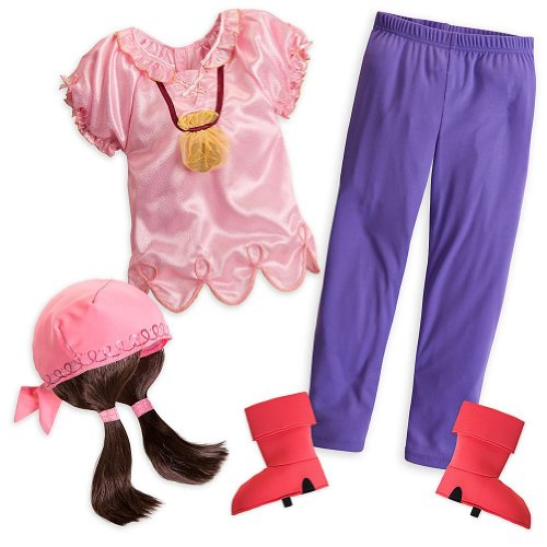 Disney Store Izzy Halloween Costume Size XS 4/4T Jake and the Never Land ()
