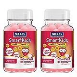 Bioglan SmartKids Happy Tummies Strawberry Yoghurt Balls, 2 x 30ct (2 Months Supply)