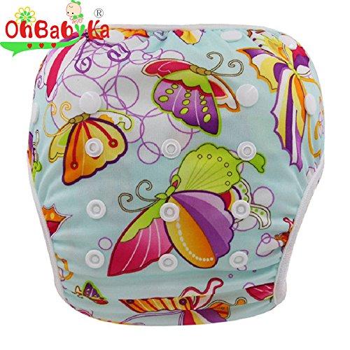 wiederverwendbar Baby Schwimmen Anzug für Jungen oder Mädchen Bademode Badehose (Tragen Anzug Zum Verkauf)