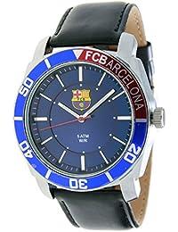 RADIANT Reloj analógico de caballero F.C.BARCELONA - Correa de piel - Azul - BA-11602 Journey