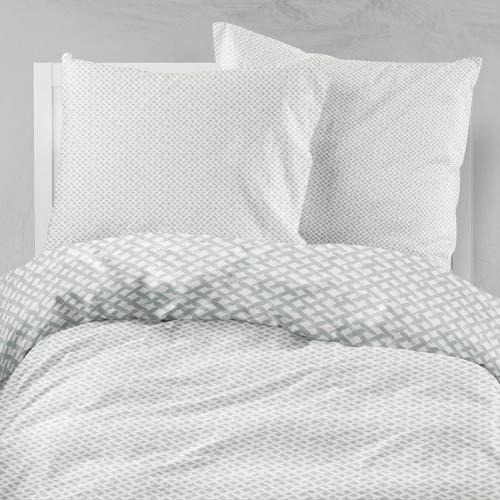 Estella Bettwäsche 6271 Mako Jersey Baumwolle Farbe: Silber 820