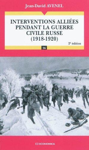 Interventions alliées pendant la guerre civile russe