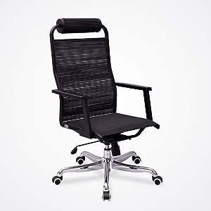 LJHA fauteuil pivotant Chaise D'ordinateur avec Rotation