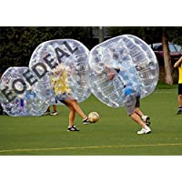 Inflatable Bumper Bubble Balls Body Zorb Ball Soccer Bumper Football 1.5m Transparency with Transparency dot