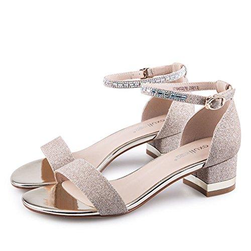 Sandales D'été/Dame Avec Des Sandales B