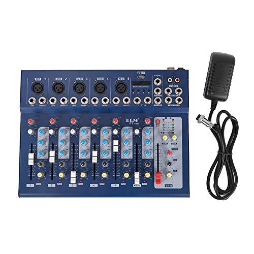 al Mic Line audio mixer usb DJ Mixer 48V Phantom Mixing Console mischpult usb dj mischpult MP3 Audio Sound Mixer ()