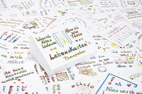 """Lebenskarten """"Therapiebox"""" - 88 Therapiekarten von Barbara Völkner"""