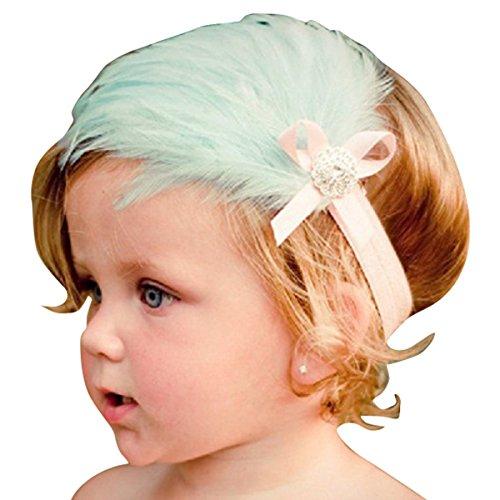 happy-cherry-bebe-infantil-cinta-diademas-de-las-plumas-accesorios-para-el-cabello-verde