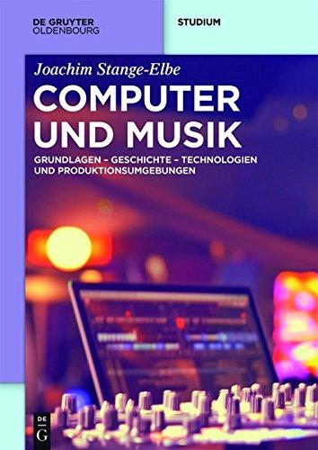 Computer und Musik: Grundlagen, Technologien und Produktionsumgebungen der digitalen Musik (De Gruyter Studium) Mensch-computer