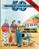 50 MILLIONS DE CONSOMMATEURS [No 124] du 01/04/1981 - 50 AGENCES DE VOYAGES - PHENIX - G.M.F. - DES MALFACONS...