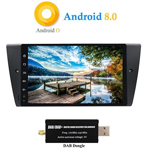 XISEDO Android 8.0 Autoradio In-Dash 9 Pulgadas Radio de Coche 8-Core RAM...