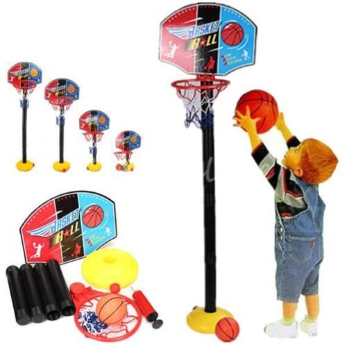 Generic yanhonguk150730-10211yh3002yh Ten Net Hoop Kids Baby Kinder Sport TRA verstellbar Toy Adjustabl Sports Zug Set Kinder Basketball Set Oy Korb Equipment Net Hoop -