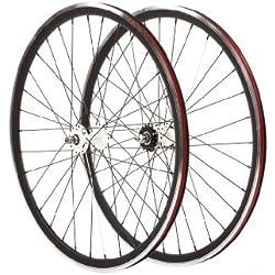 Pure Fix 700C 30mm mecanizado Pro ruedas, negro