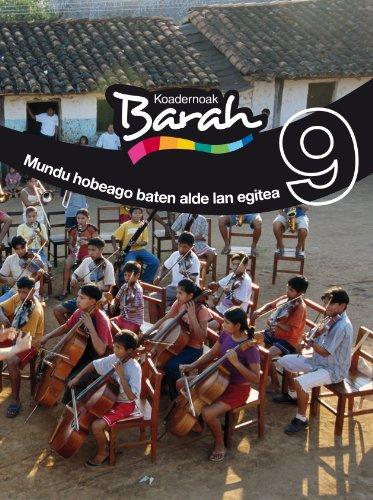 Koadernoak Barah 9 Mundu Hobeago Baten Alde Lan Egitea (CUADERNOS BARAH) - 9788483780497