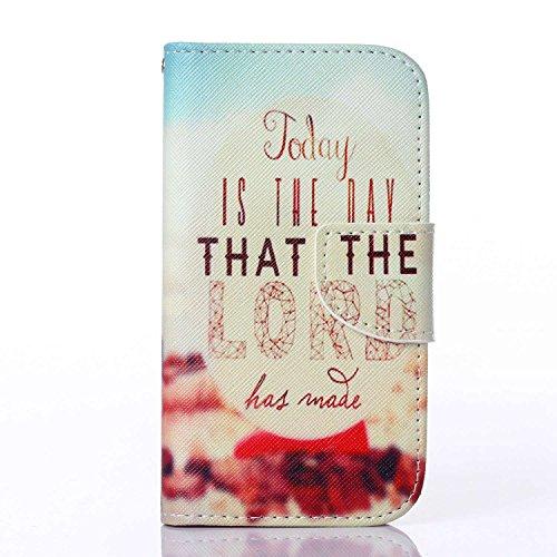 Guran® PU Leder Tasche für Apple iPhone SE / iPhone 5/5S (4 Zoll) Smartphone Flip Deckung Stehen Funktion und Karte Slot Case-Drei Elefanten color4