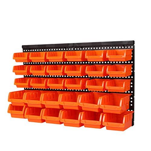 Kitchen furniture - Panneau perforé pour accessoires, crochets en plastique pour accessoires, support d'affichage pour le mur supérieur WXP (taille : C)