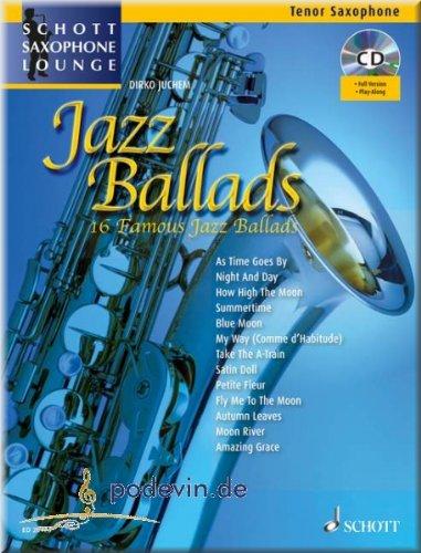 Pdf Jazz Ballads Saxophone Tenor Partitions Pour Download