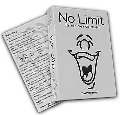 No Limit–pour tous les qui se faire confiance–Party Jeu–Jeu à boire–Jeu de Société–Sau fspiel–Jeu de cartes–Comme fait, vérité ou devoir–amusant jeu–célébrer