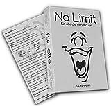 No limit für alle die sich trauen - Partyspiel - Trinkspiel - Gesellschaftsspiel - Saufspiel - Kartenspiel - ähnlich wie Tat, Wahrheit oder Pflicht - lustiges Spiel - feiern