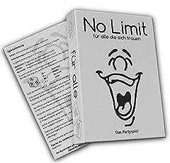 Idea Regalo - No Limit für alle die sich trauen Gioco da tavola per feste, gioco alcolicodi carte, simile a fatto, obbligo o verità