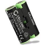 Cellonic® Batteria Compatibile con Garmin Oregon 600 600t, 650 650t 700 750 750t Garmin GPSMAP 64 Garmin Alpha 50 Atemos 50 Astro 430 010-11874-00 361-00071-00 2000mAh Accu Ricambio Sostituzione