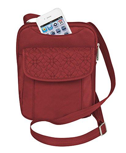 travelon-anti-theft-signature-slim-pouch-bag-cranberry-one-size