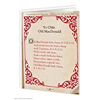 Old MacDonald Greeting Card