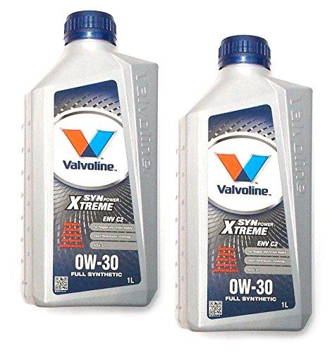 valvoline-2-x-1l-olio-0-w-30-synpower-xtreme-env-motore-c2-peugeot-citroen