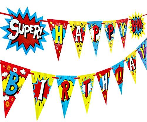 Alles Gute zum Geburtstag Banner-Partei-Dekoration Pennant ()